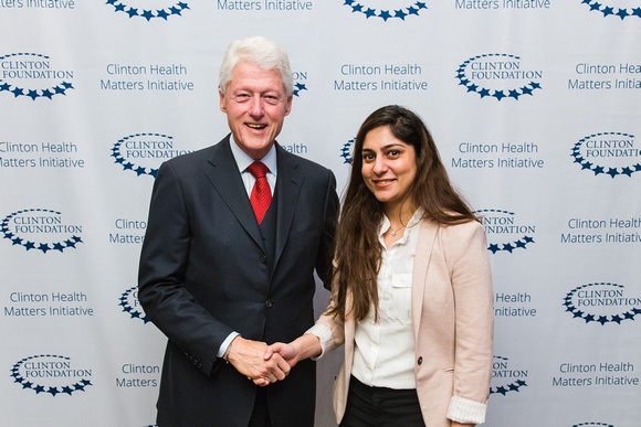 bill clinton and mahreen