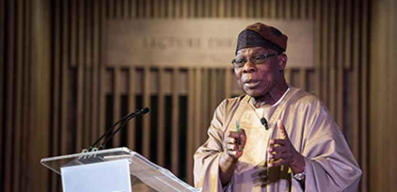 HE Chief Olusegun Obasanjo lecture and Q&A