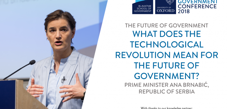What does the technological revolution mean for the future of government?