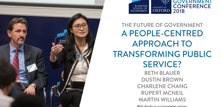A people-centred approach to transforming public service
