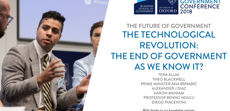 The technological revolution: the end of government as we know it?