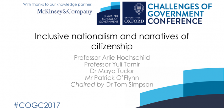 Politics deep dive: Inclusive nationalism and narratives of citizenship