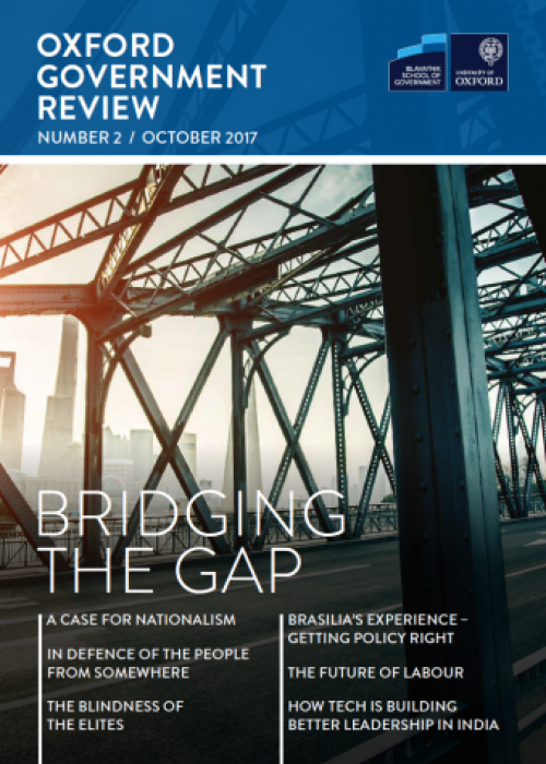 Oxford Government Review 2: Bridging the Gap